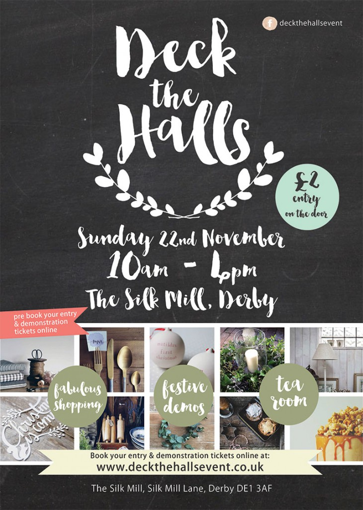 deck the halls silk mill derby november 2015