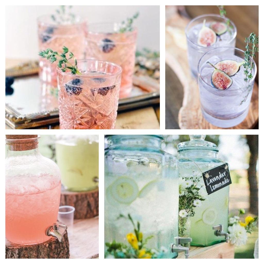 summer entertaining drinks cocktails outdoor parties