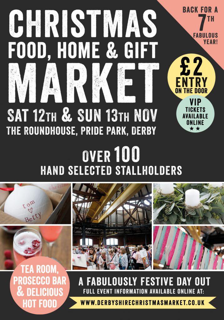 Derbyshire Christmas Market roundhouse november 2016