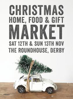christmas market derbyshire november roundhouse