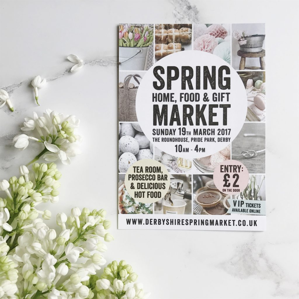 Spring home food gift market roundhouse derby derbyshire march 2017