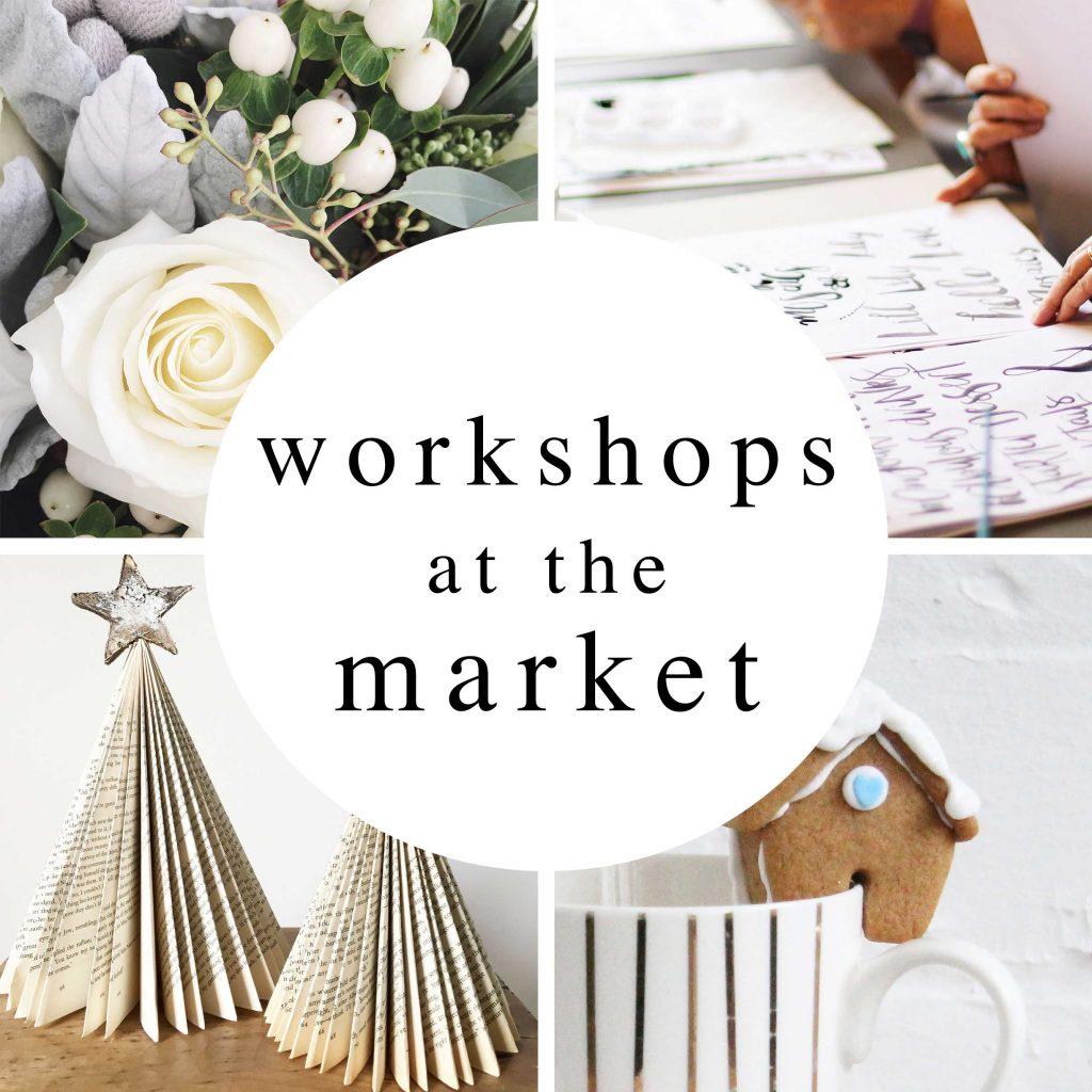 creative workshops christmas home food gift market roundhouse derby november 2017