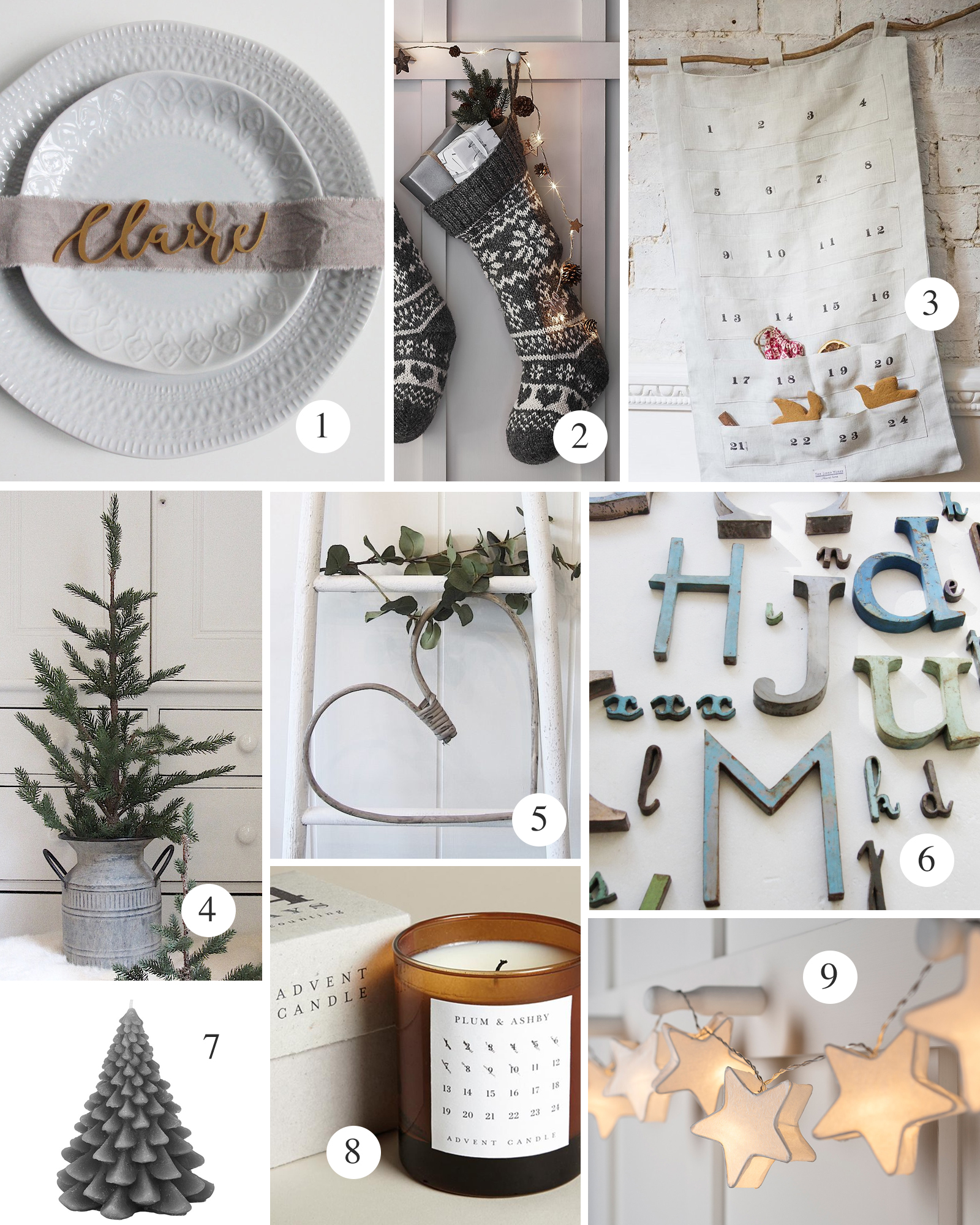 Fabulous Places christmas list 2 table and decor