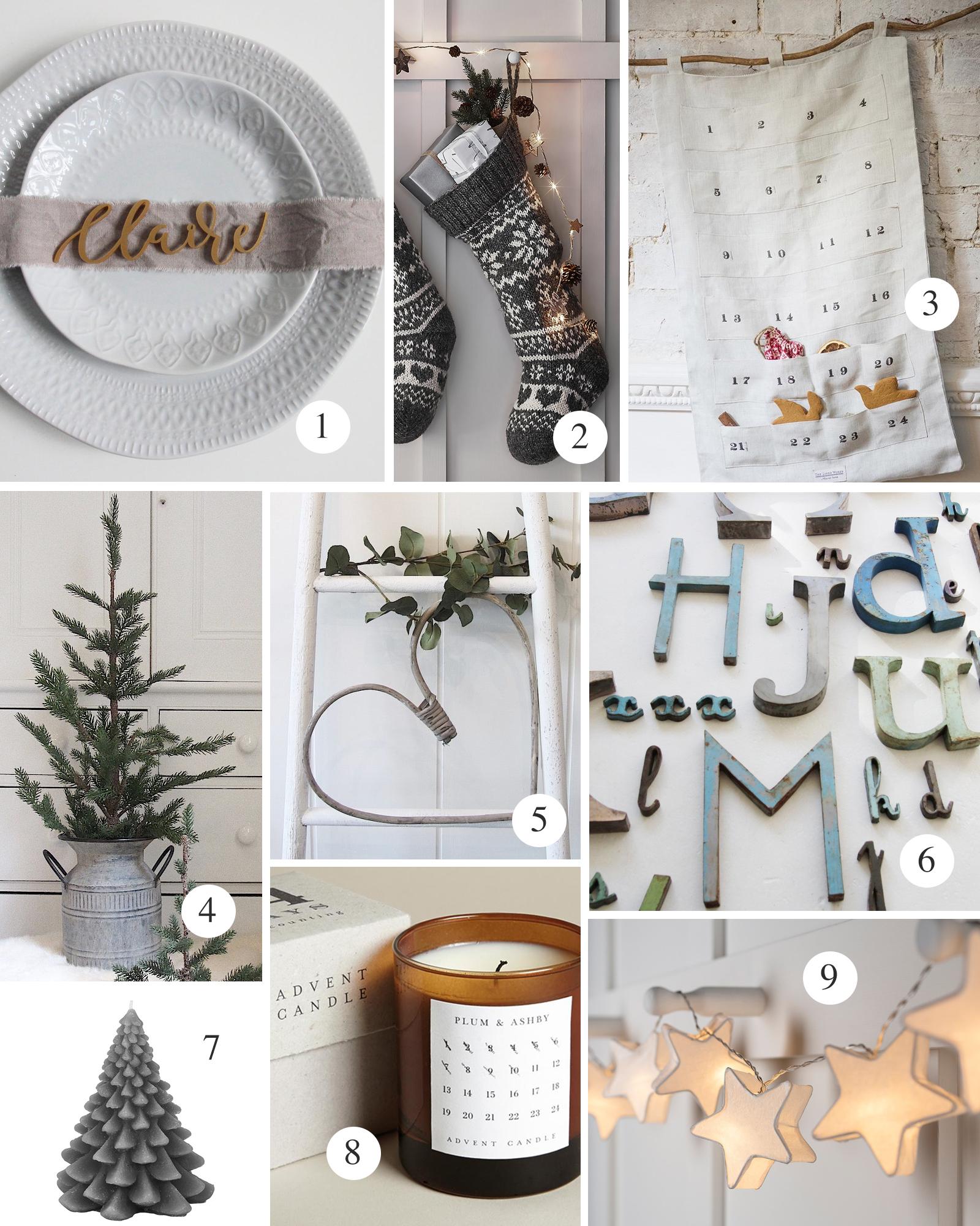 Fabulous Places christmas list 2 table and decor