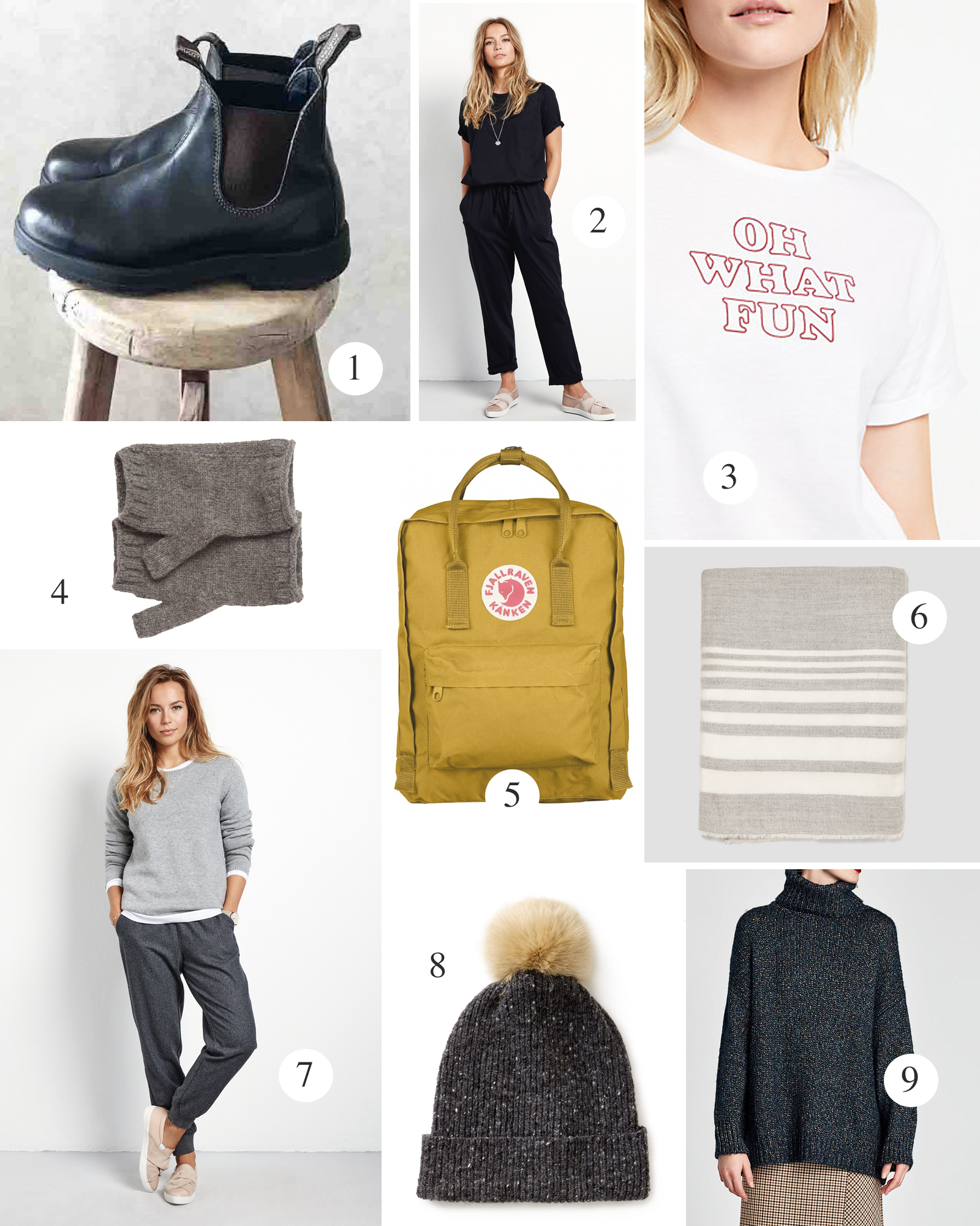 fabulous places christmas list winter layers wardrobe