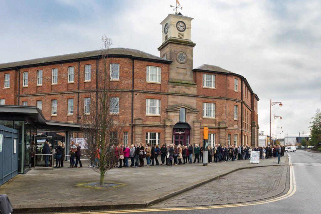roundhouse-entrance derbyshire christmas market derby fabulous places