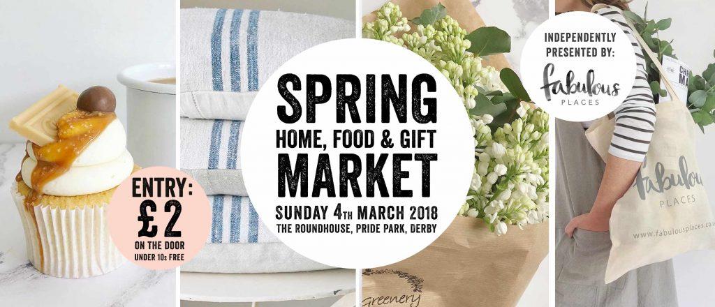 spring home food gift market roundhouse derby derbyshire