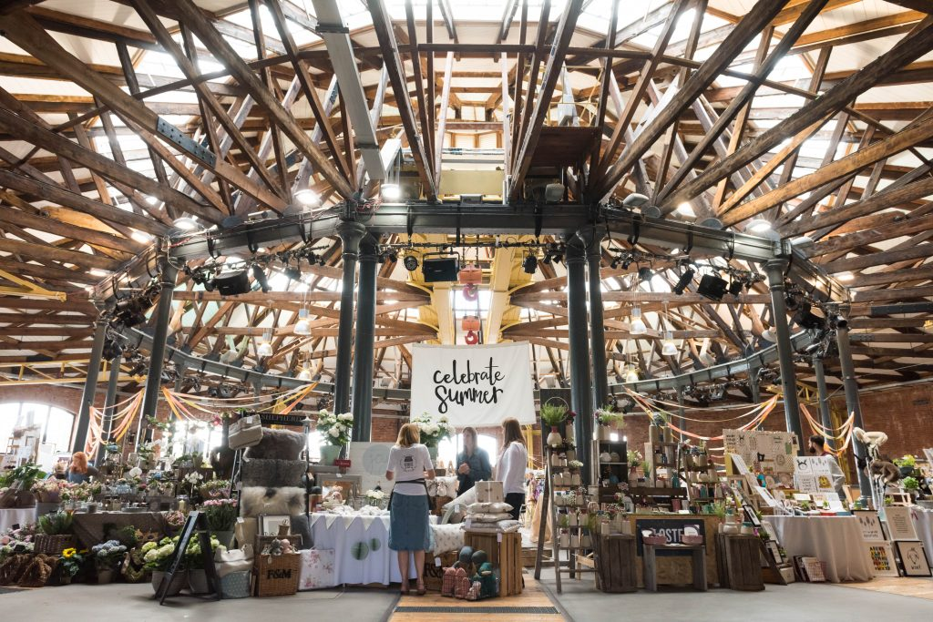 fabulous places summer market roundhouse derby derbyshire