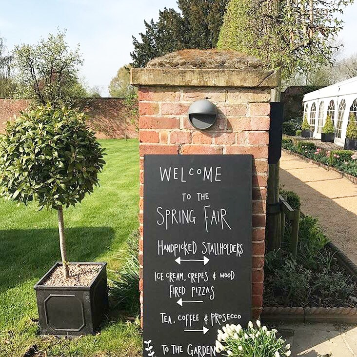 walled garden beeston spring fair presented by fabulous places