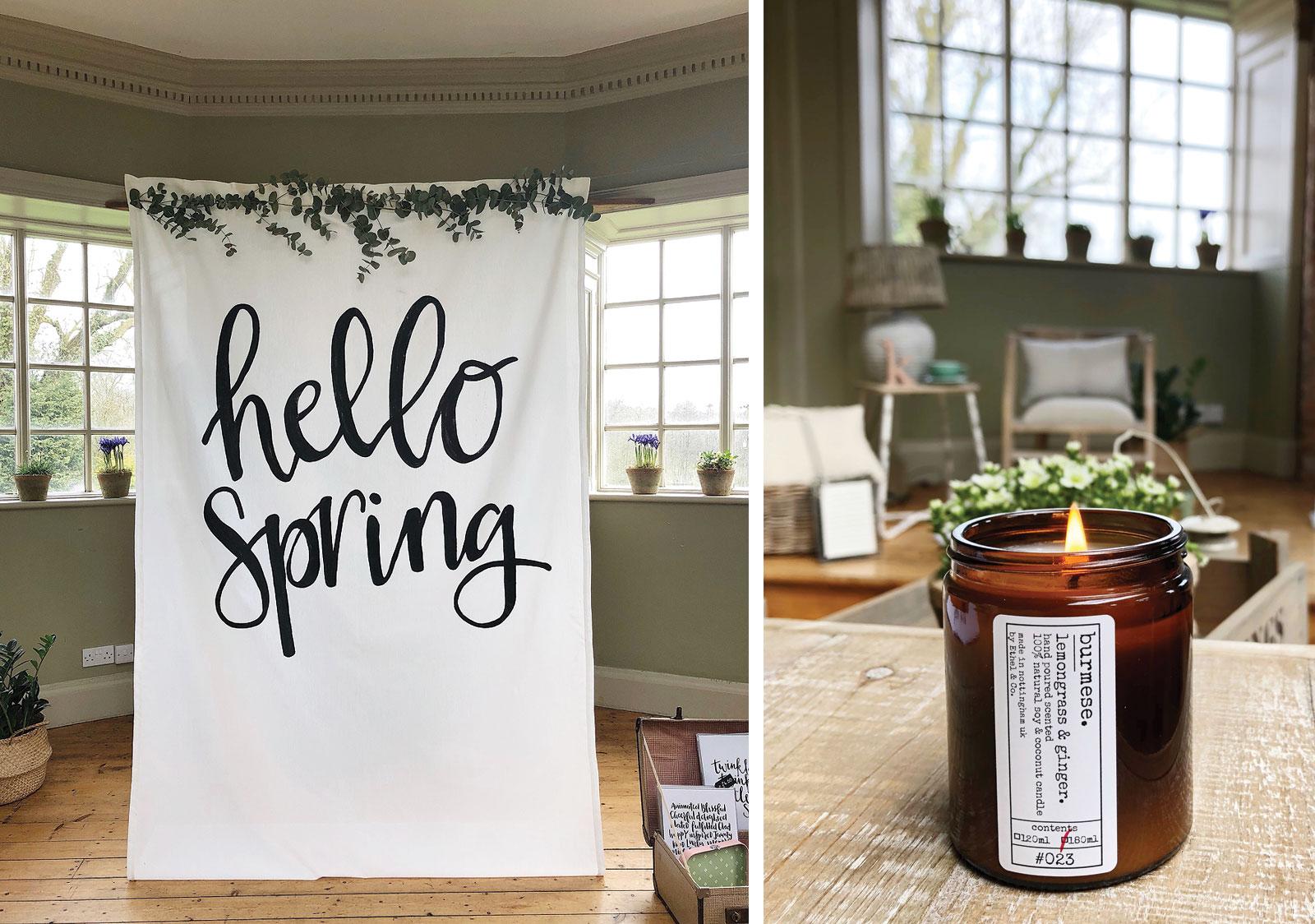 spring lifestyle creative workshop derbyshire fabulous places