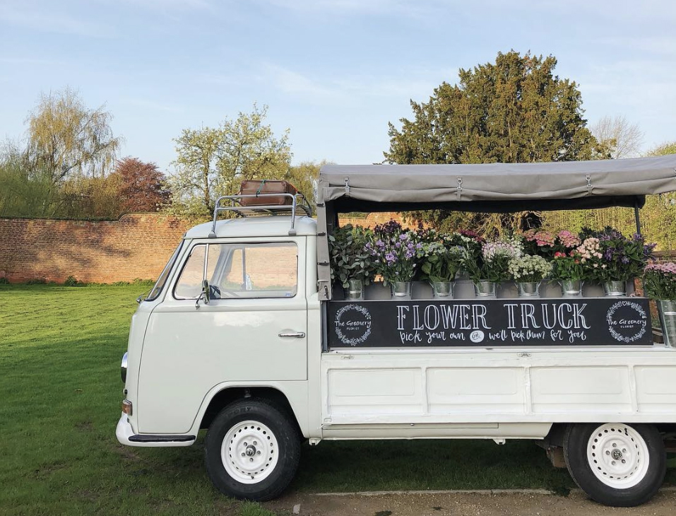 bunty flower truck the greenery spring fair walled garden nottingham fabulous places